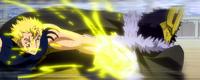 Laxus Punches Alexei
