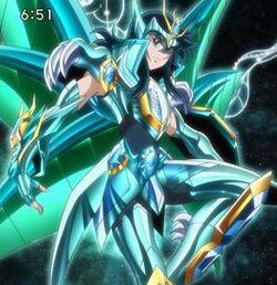 Dragon Ryuho's Omega Cloth