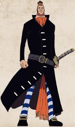 Noland Mombran Anime Full Body