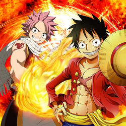 Luffy & Natsu Fairy Tail OP