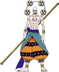 Eneru Anime Concept Art