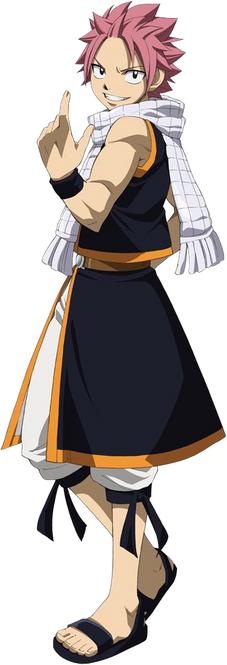 Natsu Dragneel Anime Pre Timeskip S2
