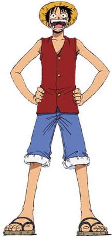 File:Luffy D. Monkey Anime Pre Timeskip Full Body.png