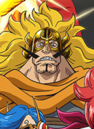 Judge Vinsmoke Anime Portrait