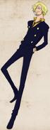 Sanji TS character