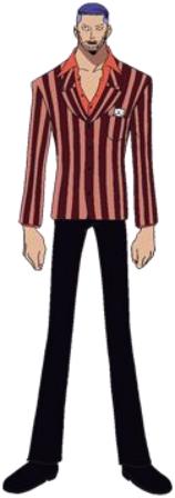 Iceburg Anime Pre Timeskip Infobox