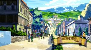 Loc Shirotsume town