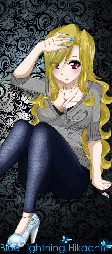 Blonde monster
