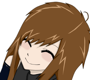 Lisa keeps smiling