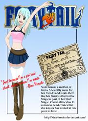 Kira Himoto's Guild Card