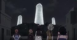 Kagura, Milina, Alanya, Risley et Beth Venant aider à détruire Face