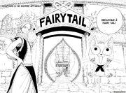 Arrivée à Fairy Tail