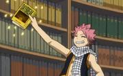Natsu trouve le livre