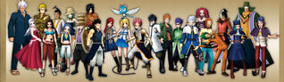 Fairy Tail Portable Personnages