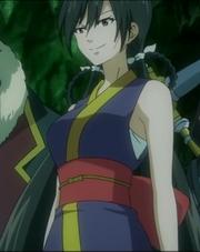Le visage de Kamika