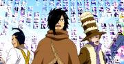 Arzak, Jett et Droy prisonniers des runes de Fried
