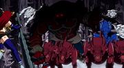 Les monstres du Pandemonium s'approchent d'Erza