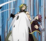 Natsu attaque Jackal
