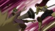 Kyôka est attaqué par Erza