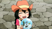 Asuka et la boule de neige