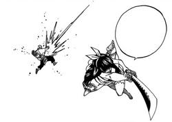 Kagura élimine le faux Simon
