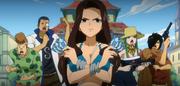 Kanna et Fairy Tail affrontent Phantom Lord