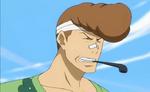 Wakaba blessé au nez