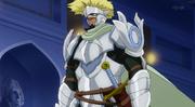 Arcadios en chevalier blanc
