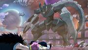 Droma Anim domine les Chasseurs de Dragon