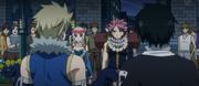 Première rencontre entre les Dragons Jumeaux et Natsu