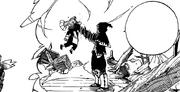 Yajima dans le mains de Tempesta
