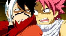 Rivalité de Natsu et Totomaru