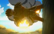 Azuma anéantit la flotte du conseil