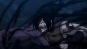 Rog participe à la combinaison des Chasseurs de Dragon face à Mald Gheel anime