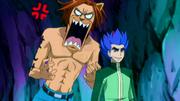 Toby et Yûka dans la grotte