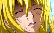 Lucy blessée après la bataille navale