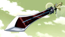 Épée Buster Ma'am