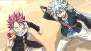 Natsu & Haru faisant équipe