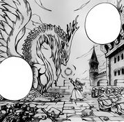 L'idée des dragons, former des humains à leur magie