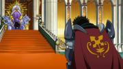 Arcadios discute avec le Roi de Fiore