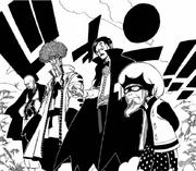 Jera Nekis et les 3 rois Célestes d'Ishgar apparaissent.