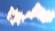Bras Natsu bouclier ondes