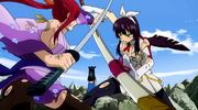 Erza vs. Kagura Anime