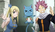 Natsu et Lucy retrouvent Wendy
