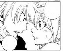 Natsu fait une promesse à Lucy