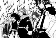 L'équipe fusionnée de Fairy Tail