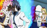 La rivalité entre Natsu et Grey