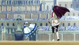 Kagura face à Yukino