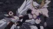 Kyôka frappe Erza alors que la sensation de douleur est au maximum