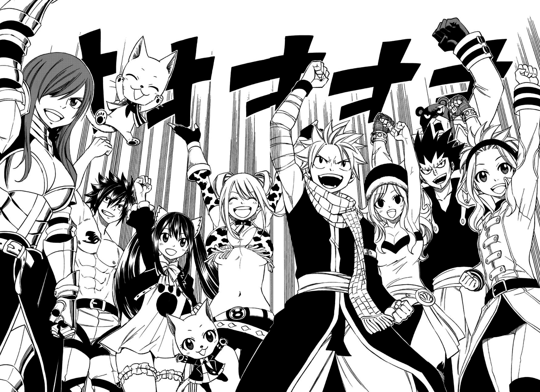 Gajil redfox histoire x792 fairy tail wiki fandom - Image manga fairy tail ...